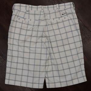 Nike Mens Golf blue and white Shorts, tag: 34 & G